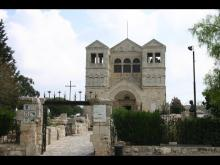 Embedded thumbnail for Mount Tabor - place of the Transfiguration
